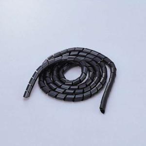 エレコム スパイラルチューブ ケーブルスパイラルチューブ(内径12mm)  ブラック 2m┃BST-...
