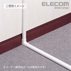 配線モール フラットモール ホワイト 幅17.0mm ┃LD-GAF1/WH┃ エレコム elecom 03