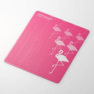 マウスパッド animal mousepad(アニマル マウスパッド) フラミンゴ┃MP-111C┃ エレコム|elecom|02