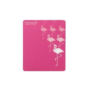 マウスパッド animal mousepad(アニマル マウスパッド) フラミンゴ┃MP-111C┃ エレコム|elecom|03