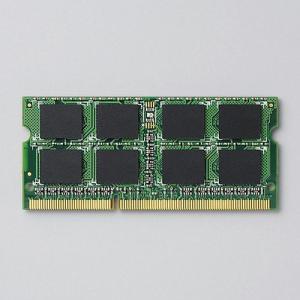 増設メモリ 204pin DDR3-1333/PC3-10600 DDR3-SDRAM S.O.DIMM 2GB ┃EV1333-N2GA/RO┃ エレコム