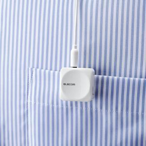 Bluetoothオーディオレシーバー ホワイト┃LBT-PAR01AVWH アウトレット エレコム わけあり|elecom|06