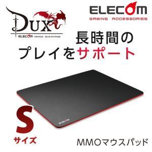 DUX MMOゲーミングマウスパッド ブラック Sサイズ┃M...