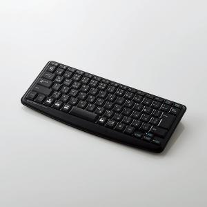 エレコム カチャカチャしない静音キーボードBluetooth本格静音設計ミニキーボード ブラック┃TK-FBM093SBK|elecom|02