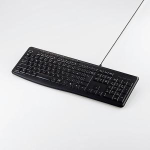 エレコム カチャカチャしない静音キーボード有線本格静音設計フルキーボード ブラック┃TK-FCM090SBK elecom 02