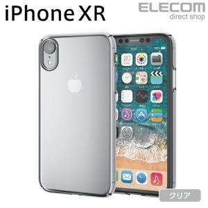 49cf947aa2 エレコム iPhoneXRケースシェルカバー極み設計 クリア┃PM-A18CPVKCR elecom ...