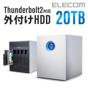 LaCie(ラシー) 5big Thunderbolt2 外付HDD(ハードディスク) 20TB┃LCH-5BF200TB2G アウトレット エレコムわけあり elecom