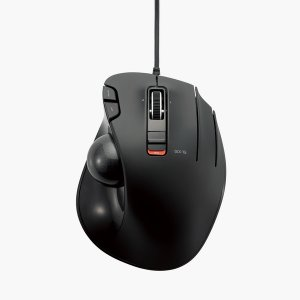 有線 トラックボール 5ボタン マウス(親指操作タイプ) ブラック┃M-XT2URBK エレコム|elecom|03
