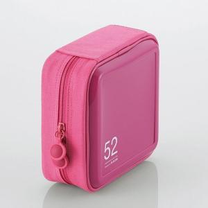 CD/DVD ファスナーケース (52枚収納) ピンク ┃CCD-H52PN エレコム|elecom|02