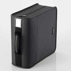 CD/DVD ファスナーケース (320枚収納) ブラック┃CCD-SS320BK エレコム elecom