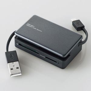 タブレット・スマホ・PC対応メモリリーダライタ ブラック 31+5メディア┃MRS-MB07BK エレコム|elecom|02