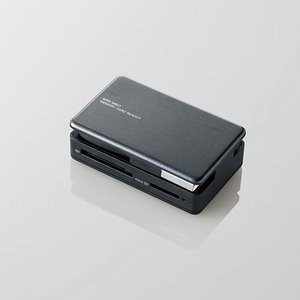 タブレット・スマホ・PC対応メモリリーダライタ ブラック 31+5メディア┃MRS-MB07BK エレコム|elecom|03