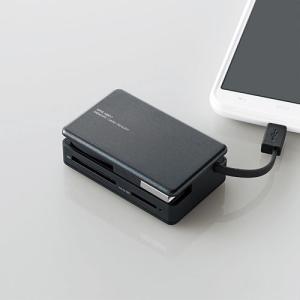 タブレット・スマホ・PC対応メモリリーダライタ ブラック 31+5メディア┃MRS-MB07BK エレコム|elecom|04