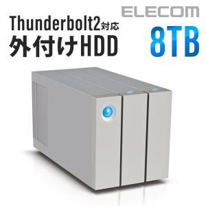 LaCie 2big thunderbolt2 8TB┃STEY8000300 アウトレット エレコムわけあり|elecom