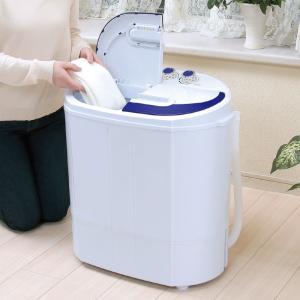 場所をとらない二槽式洗濯機 - 熟年時代社