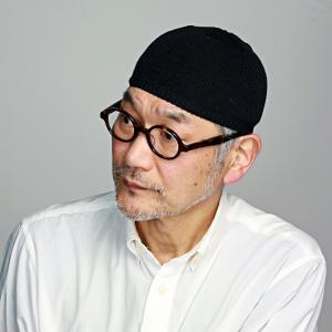 ニット帽 帽子 ニット メンズ LE MILIEU 綿麻ニット ショートワッチ 黒|elehelm-hatstore