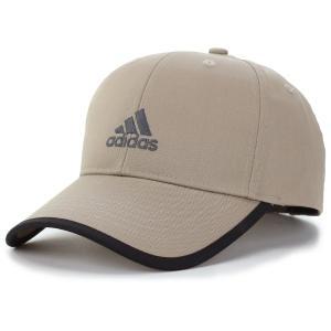 アディダス ツイル キャップ 野球帽 ベースボールキャップ スポーツ 大きいサイズ adidas  cap ベージュ elehelm-hatstore