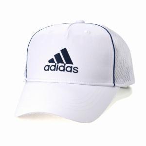 快適 アディダス ツイル キャップ 帽子 メンズ オールシーズン メッシュキャップ スポーツ 大きいサイズ adidas  cap/白 ホワイト|elehelm-hatstore