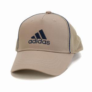 オールシーズン メッシュキャップ スポーツ 大きいサイズ adidas  cap 快適 アディダス ツイル キャップ 帽子 メンズ/ベージュ|elehelm-hatstore