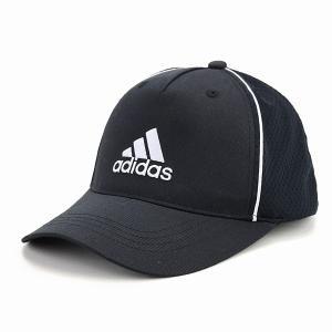 adidas  快適 ツイル キャップ 帽子 メンズ オールシーズン メッシュキャップ スポーツ アディダス 大きいサイズ cap 黒 ブラック×ホワイト|elehelm-hatstore