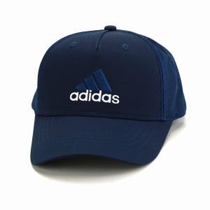 メッシュキャップ スポーツ 大きいサイズ adidas  cap 快適 アディダス ツイル キャップ 帽子 メンズ オールシーズン/紺 ネイビー|elehelm-hatstore