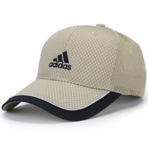 adidas 野球帽 大きい メッシュ キャップ アディダス アクアホール ソアリオン cap スポーツ ベースボールキャップ メンズ レディース 帽子 春夏 ベージュ elehelm-hatstore
