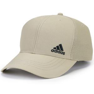 adidas メッシュ キャップ アディダス INTER ZERO CAP スポーツ ベースボールキャップ メンズ レディース 野球帽 吸水 速乾 通気性 帽子 春夏 ベージュ elehelm-hatstore