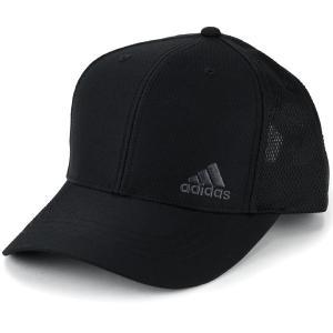 アディダス ベースボールキャップ メンズ レディース 野球帽 adidas メッシュ キャップ INTER ZERO CAP スポーツ 吸水 速乾 通気性 帽子 春夏 黒 ブラック elehelm-hatstore