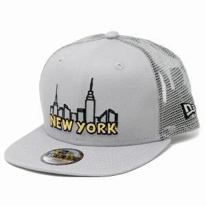 子供 キャップ ニューエラ NYC ニューヨーク 街 帽子 キッズ NEWYORK NEWERA キッズ CAP CHILD グレー elehelm-hatstore