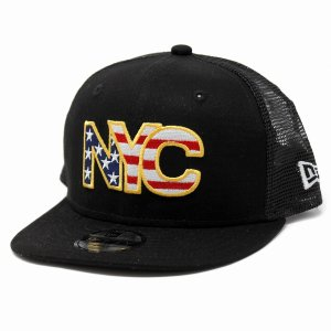 キッズ 帽子 ニューエラ NYC ニューヨーク アメリカ 帽子 キッズ NEWYORK NEWERA 子供 CAP CHILD 黒 ブラック elehelm-hatstore