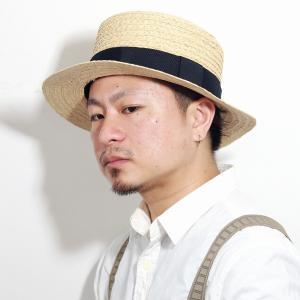 春 夏 カンカン帽 麦わら帽子 涼しい メンズ レディース ギフト ストローハット ハット リボン 帽子 黒 ブラック|elehelm-hatstore
