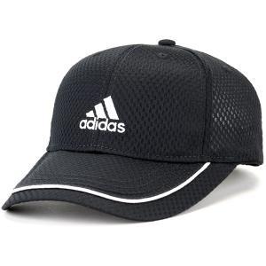 アディダス 野球帽 吸水 速乾 通気性 帽子 春夏 adidas cap ライト メッシュ キャップ スポーツ ベースボールキャップ メンズ レディース 黒 ブラック elehelm-hatstore