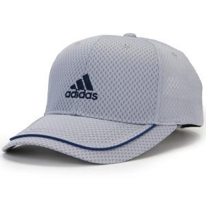 アディダス 帽子 春夏 野球帽 adidas cap キャップ ライト メッシュ 吸水 速乾 通気性 スポーツ ベースボールキャップ メンズ レディース 灰色 グレー elehelm-hatstore
