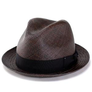 パナマハット 帽子 メンズ ベイリー bailey FELKER cherry red ブラウン 赤茶|elehelm-hatstore