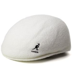 ハンチング メンズ 帽子 カンゴール パイル地 タオル地 アイビーキャップ kangol BERMUDA 575 白 ホワイト|elehelm-hatstore