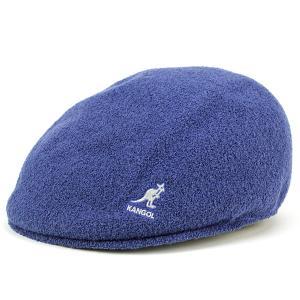 ハンチング メンズ 帽子 カンゴール パイル地 タオル地 アイビーキャップ kangol BERMUDA 575 青 ブルー TARUM|elehelm-hatstore