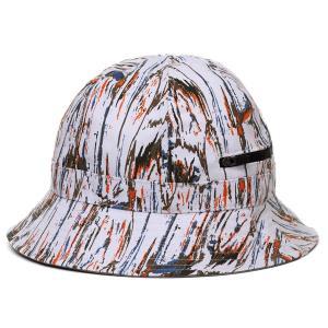 メトロハット マーブル模様 ミリタリー ファッション カンゴール 帽子 ハット 春 夏 ポケット付き 派手 インパクト大のお洒落ハット マルチカラー サージェント|elehelm-hatstore