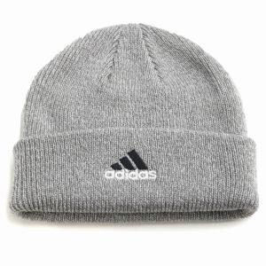 ニット メンズ adidas cap オールシーズン 折り返し ニットワッチ ニット帽 レディース 帽子 アディダス メンズ/グレー|elehelm-hatstore