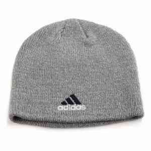 adidas 2トーン ビーニー メンズ アディダス メンズ ニット メンズ ブランドロゴ 秋冬 帽子 ニット帽 レディース/グレー|elehelm-hatstore