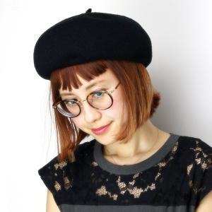 ベレー帽 春夏 レディース 帽子 メンズ ベレー チョボ付 サマーニット 夏らしい シンプルサマーベレー ブラック|elehelm-hatstore