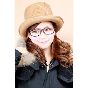 帽子 レディース シルクハット ロベルトイデア メンズ 帽子 ペイント加工 山高帽 キャメル|elehelm-hatstore