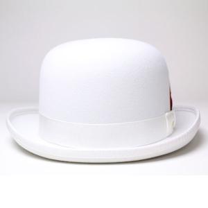 New York Hat ニューヨークハットDELUXE WOOL FELT DERBYHAT HAT ホワイト 白 elehelm-hatstore 03