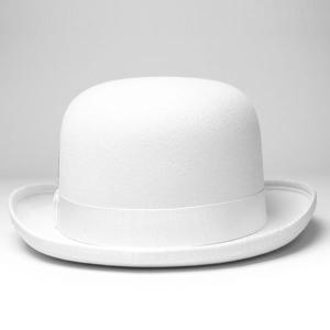 New York Hat ニューヨークハットDELUXE WOOL FELT DERBYHAT HAT ホワイト 白 elehelm-hatstore 04