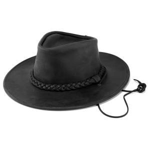 帽子 メンズ ハット レディース ヘンシェル 本革 1154-39 カウボーイハット 帽子 レザー 乗馬 ウエスタン 乗馬 アメリカ製 USA ぼうし ブラック|elehelm-hatstore
