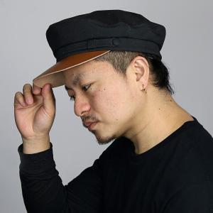 帽子 メンズ マリンキャップ NEW YORK HAT キャンバス ニューヨークハット カジュアル キャップ 春 夏 秋 シンプル レディース 黒 ブラック|elehelm-hatstore