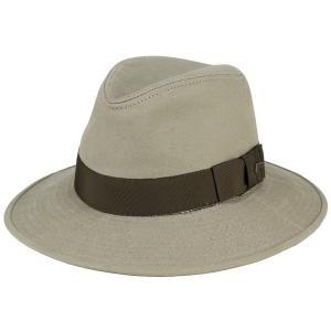 Indiana Jones 帽子 ディズニー 中折れハット ワイドブリム マニッシュ サファリ メンズ 映画 コットンハット 秋冬 カーキ|elehelm-hatstore