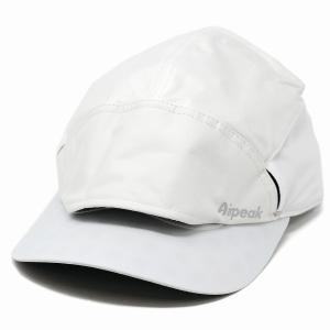airpeak pro キャップ エアピーク プロ 帽子 特殊繊維 ナノフロント ハイスペックモデル ランニング マラソン 白 ホワイト