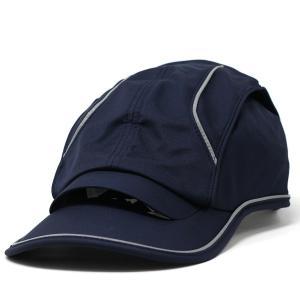 キャップ マラソン ランニング エアピーク 通気性の良い  Airpeak SPEEDII 帽子 メンズ 紺 S-00-21-F ネイビー