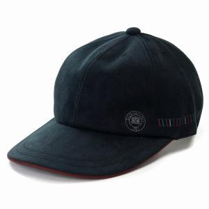 帽子 メンズ ボルサリーノ キャップ 日本製 秋冬 スエード調 野球帽 紳士 ブランド Borsalino ベースボールキャップ お洒落 黒 ブラック|elehelm-hatstore