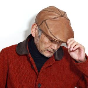 秋 冬 Bailey ハンチング 帽子 ベイリー レザー ラムスキンレザー メンズ レディース レトロ インポート 茶 ブラウン スコッチ elehelm-hatstore
